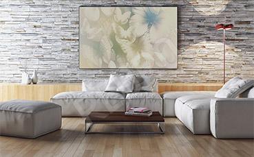 Obraz białe motyle do salonu