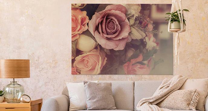 Obraz różany ogród