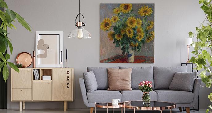 Obraz Bukiet słoneczników