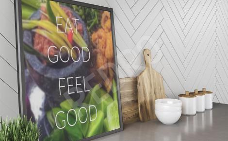 Obraz cytat do kuchni