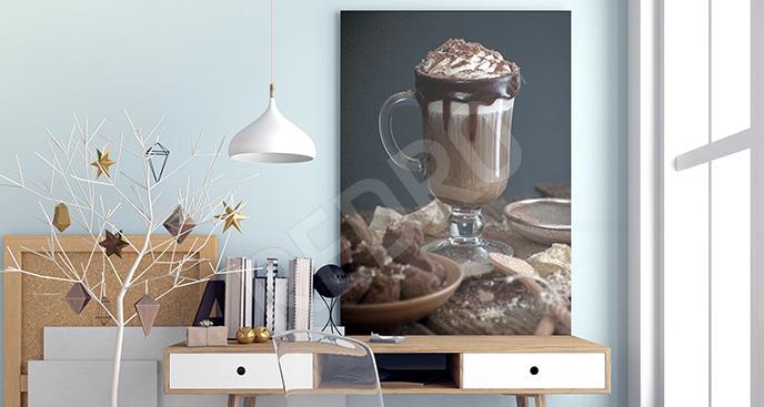 Obraz czekolada na gorąco