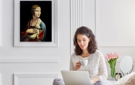 Obraz Dama z gronostajem
