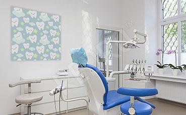 Obraz dentystyczny ząbki