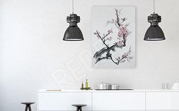 Obraz do kuchni gałąź drzewa