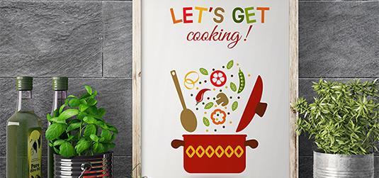 Obrazy do kuchni - czy to dobry pomysł?