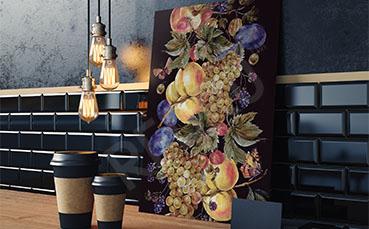 Obraz do kuchni owoce