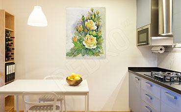 Obraz do kuchni róże