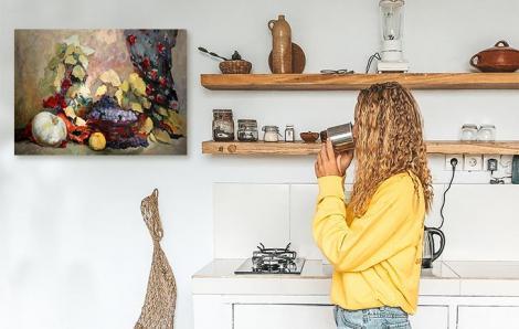 Obraz do kuchni w akwareli