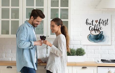 Obraz do kuchni z kawą