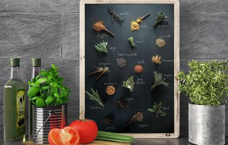 Obraz do kuchni z przyprawami