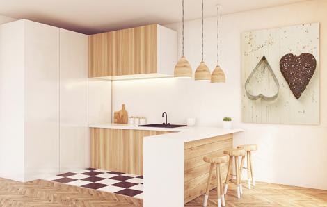 Obraz do kuchni z sercem