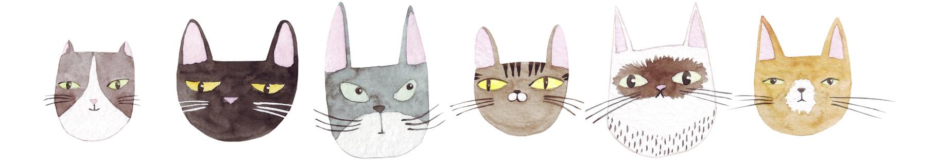 Obraz do pokoju dziecka z kotami