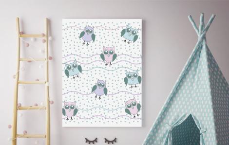 Obraz do pokoju dziecka ze zwierzętami