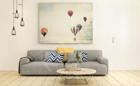 Obraz do salonu balony