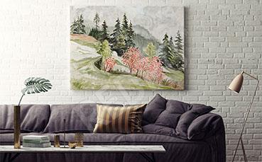Obraz do salonu pejzaż