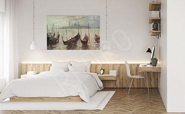 Obraz do sypialni gondole
