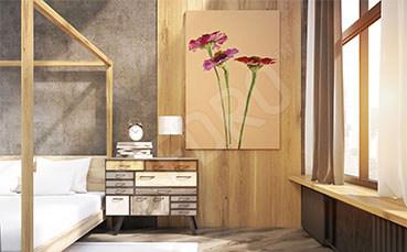 Obraz do sypialni kwiaty