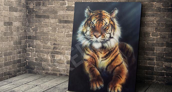Obraz drapieżne zwierzę