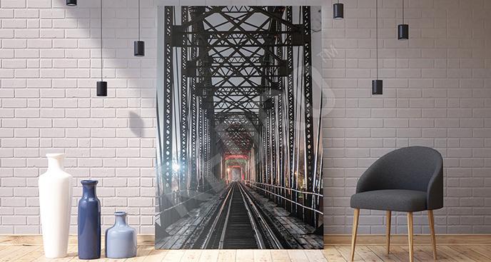 Obraz dworzec 3D