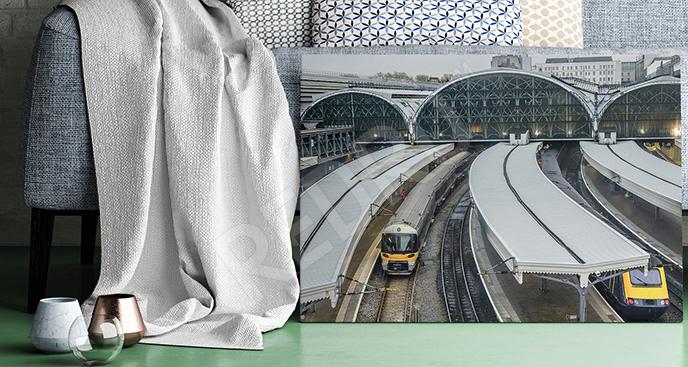 Obraz dworzec w Londynie
