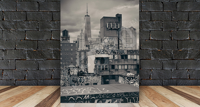 Obraz dzielnica Nowego Jorku