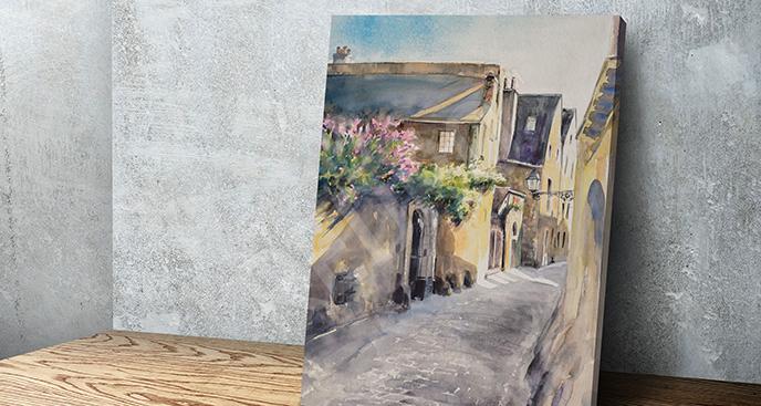 Obraz dzielnica Paryża