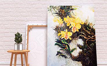 Obraz malarstwo kwiaty