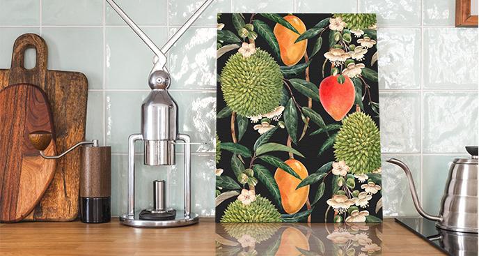 Obraz egzotyczne owoce