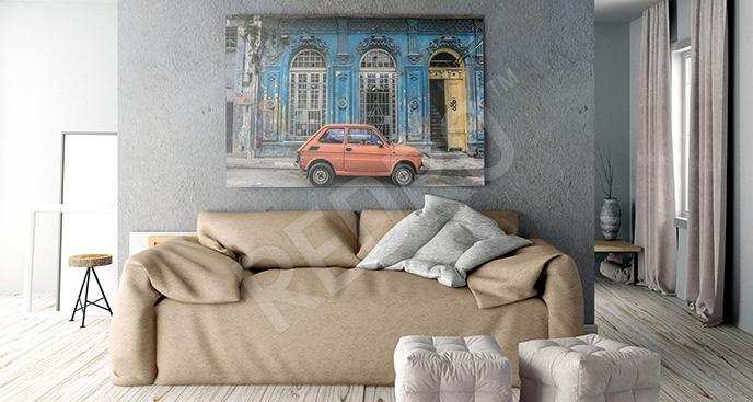 Obraz Fiat 126p w Hawanie