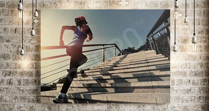 Obraz fitness bieganie