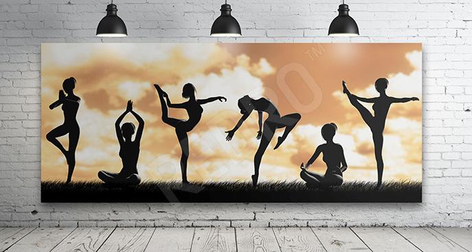 Obraz fitness sport