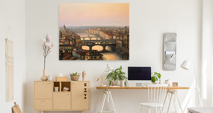 Obraz Florencja z lotu ptaka