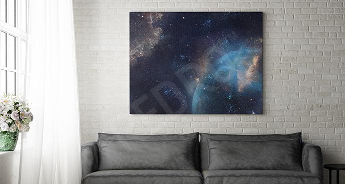Obraz galaktyka 3D
