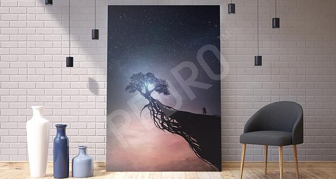 Obraz galaktyka w stylu fantasy