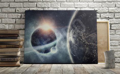 Obraz galaktyki efekt 3D
