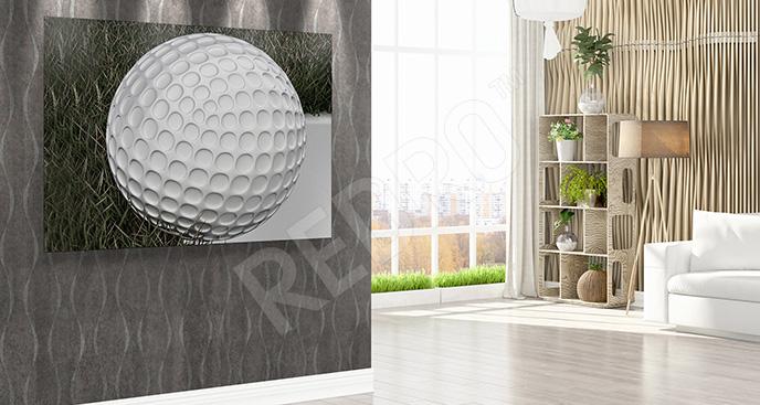 Obraz golf w 3D