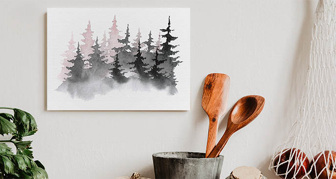 Obraz górska przyroda
