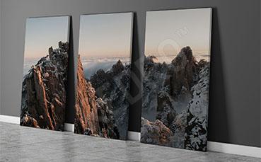 Obraz górskie szczyty