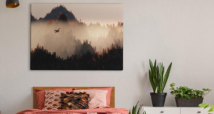 Obraz malarstwo krajobrazowe