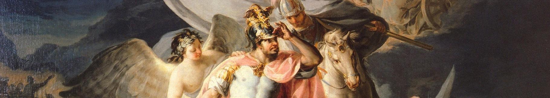 Obraz Hannibal zwycięzca przekraczający Alpy