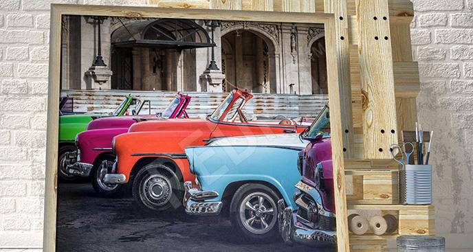Obraz Hawana: kolorowe samochody
