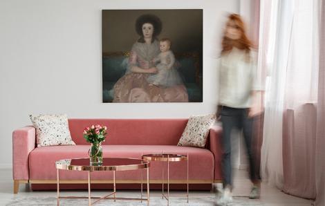 Obraz Hrabina Altamira z córką