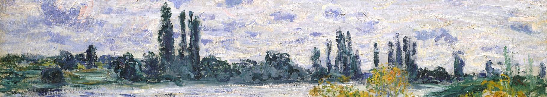 Obraz Île aux Fleurs near Vétheuil