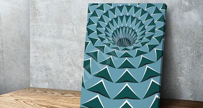 Obraz iluzja abstrakcyjna