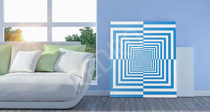 Obraz iluzja op-art