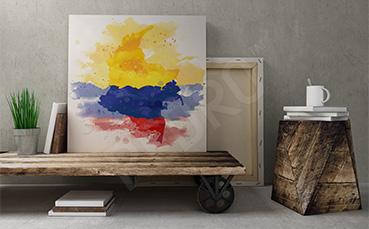 Obraz inspiracje z Ameryki Południowej