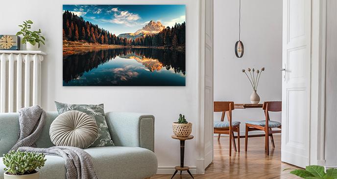 Obraz krajobraz do salonu