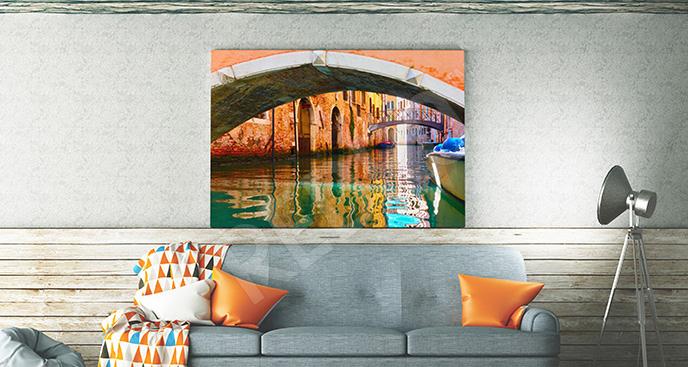 Obraz kanał wenecki