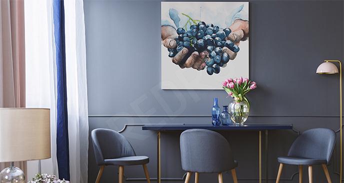 Obraz kiść winogron