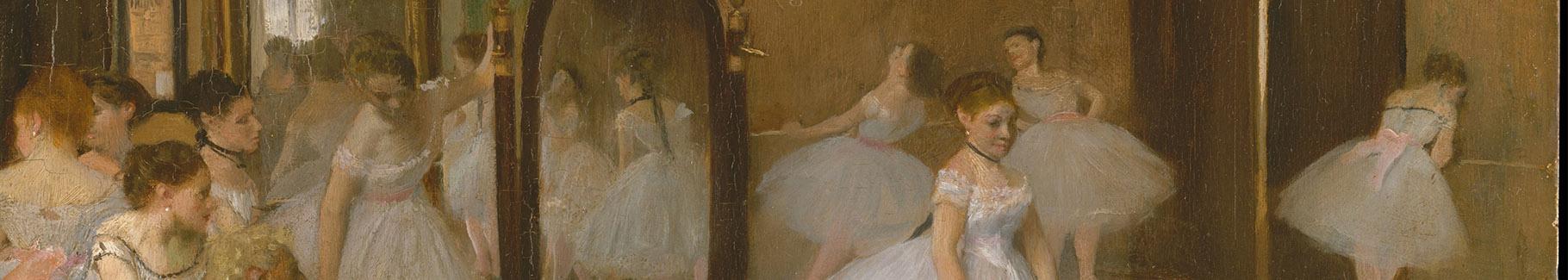 Obraz Klasa tańca